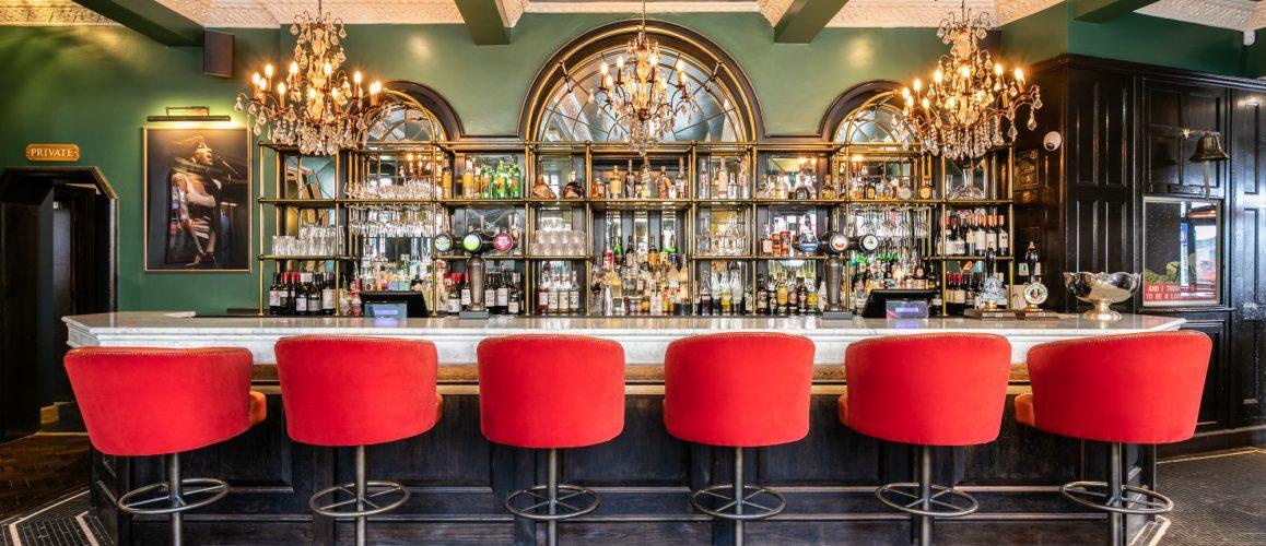 bar at The Bedford, Balham