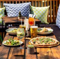 London beer gardens to open in April