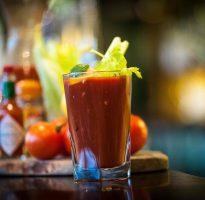 Free Bloody Mary on New Year's Day